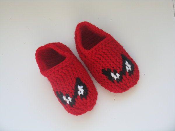 Spiderman Slippers Pattern | Schuhe und Häkeln