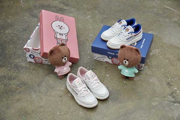 64afb8c60e9 Fashion Brand Reebok Classic Characters Brand Launches kids` sneakers that  utilize the characters of Brown