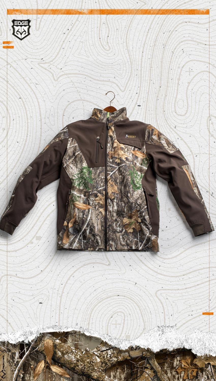 New Rocky Realtree Edge Jacket 2018 Moda Camourban Moda