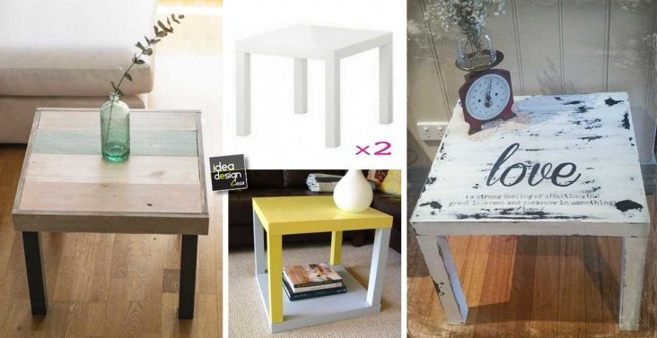 Tavolino lack ~ Restyling del tavolino ikea lack di u ac idee originali