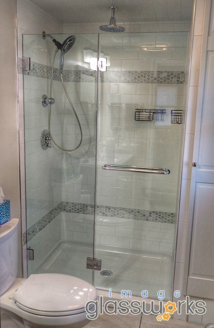 134 Best Frameless Shower Doors Swinging Hinged Images On