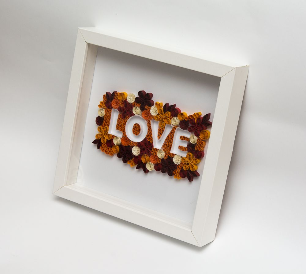 Quilling Home Decor