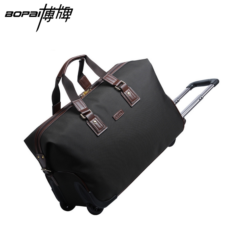 68.09$  Watch now - http://ali8pl.worldwells.pw/go.php?t=32727371827 - High quality waterproof men travel bags carry on luggage bags men duffel bags travel handbag large weekend trolley bags BOPAI