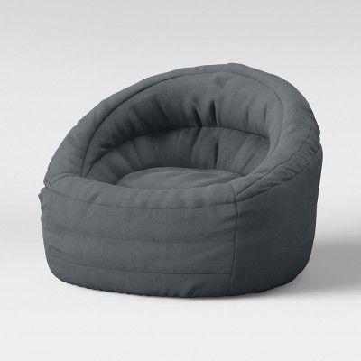 Groovy Cocoon Bean Bag Chair With Pocket Gray Pillowfort In 2019 Inzonedesignstudio Interior Chair Design Inzonedesignstudiocom