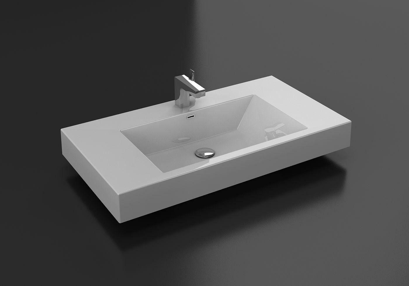 Aqua Decor Venice 36 Inch Bathroom Vessel Sink Sink Basin