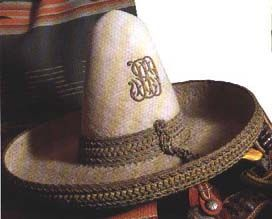 A rare (now) Stetson Sombrero. Stetson made crowns in Philadelphia and sent  them a94dfb92da6