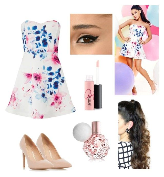 """Ariana #9"" by rusher-11 ❤ liked on Polyvore featuring MAC Cosmetics, Dorothy Perkins and Lipsy"