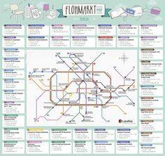 Flohmarkt Map Berlin 42 Flohmarkte Auf Einem Blick Flohmarkt