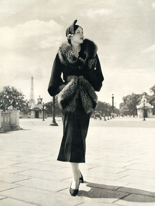 Paris Fashion, c.1930's - Retro Wunderland