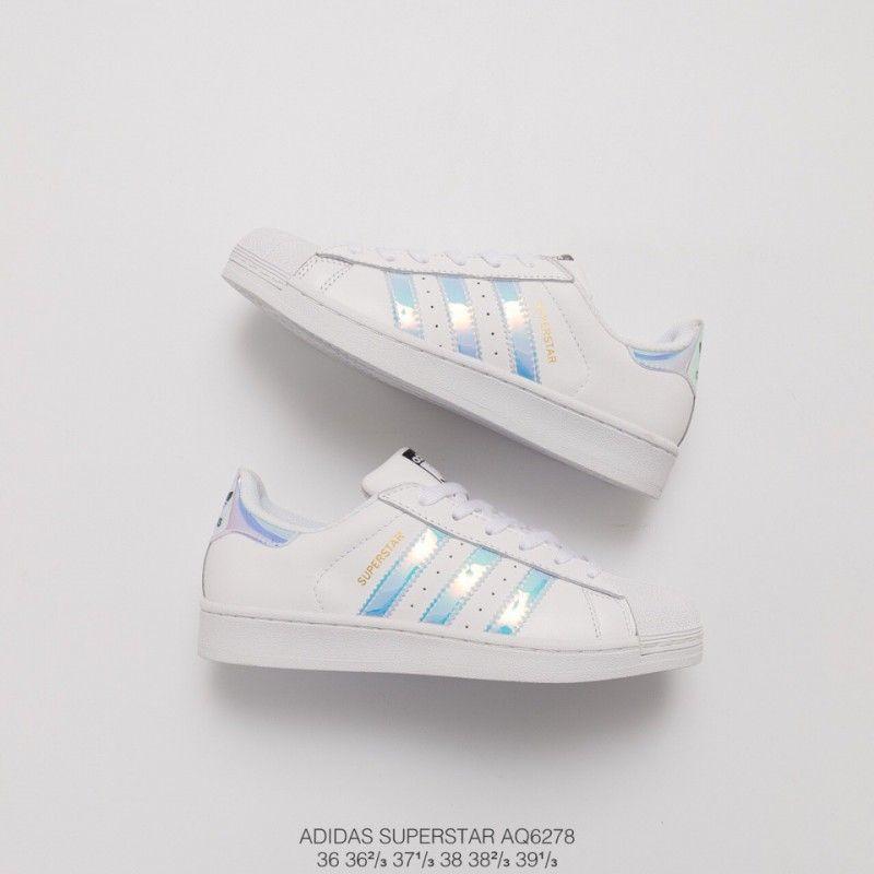 Adidas Superstar Classic White Hologram
