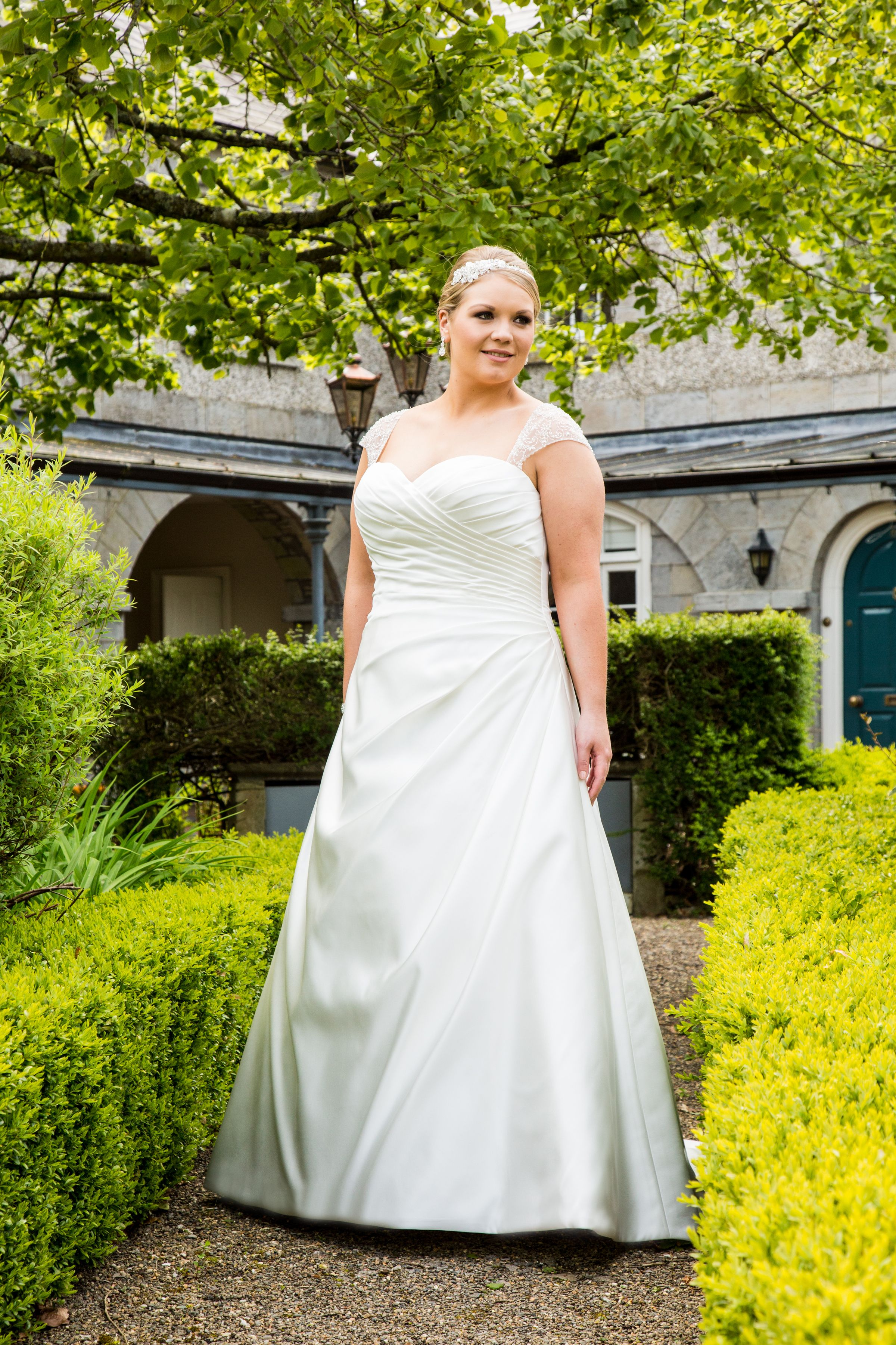 Simple Yet Beautifully Detailed Brides Dress From Finesse Bridal Wear In Listowel Co Kerry