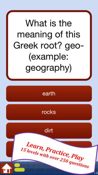 Free greek and latin roots app Kids Pinterest Roots, Greek - origin of the word free