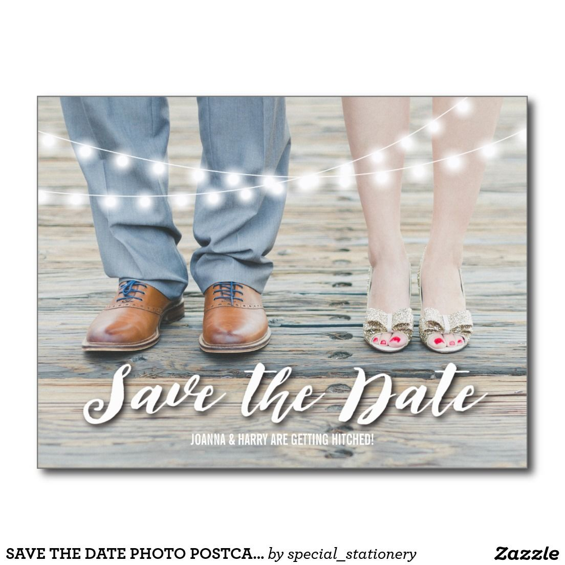 SAVE THE DATE PHOTO POSTCARD | ELEGANT MARRIAGE #SAVETHEDATE #PHOTOCARD #WHIMSICAL #WEDDING #MARRIAGEINVITATION #RUSTIC #COUNTRY #MODERN #ELEGANT