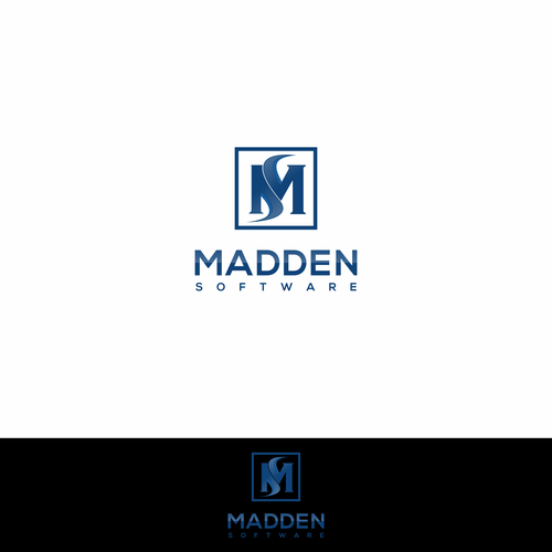 Madden Software Modern Logo Needed For Tech Startup We Are Primarily A Software Consulting Company Providing Custom Geometric Logo Creative Logo Modern Logo