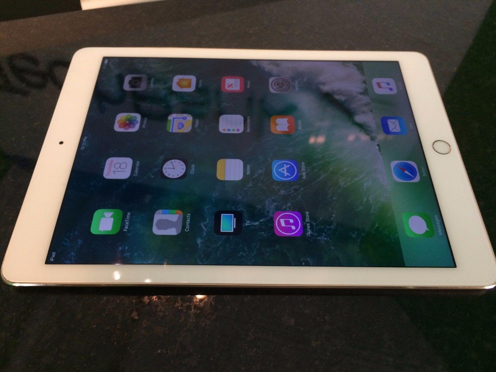Apple Ipad Air 2 2nd Generation 128gb Gold Wi Fi Tablet Read Sale Ipad Apple Ipad Air Ipad Air 2 Ipad