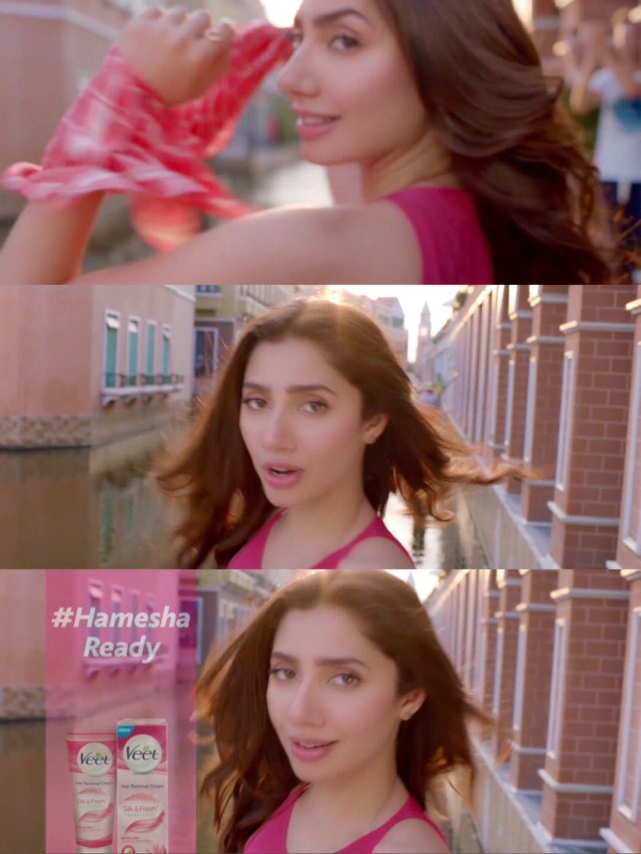 Mahira Khan for Veet TVC 2017 Ad   Mahira khan, Khan, Veet