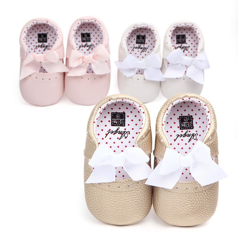 Cute New Girl Cheap Shoes Newborn Baby First Walkers Shoes Soft Sole Retail Crib  shoes kids d68ecff60746