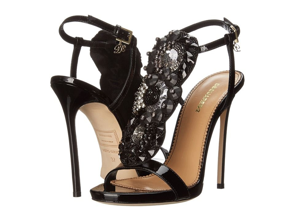 Dsquared² Leather Platform Sandals outlet store free shipping enjoy new styles online HmKE0HXr