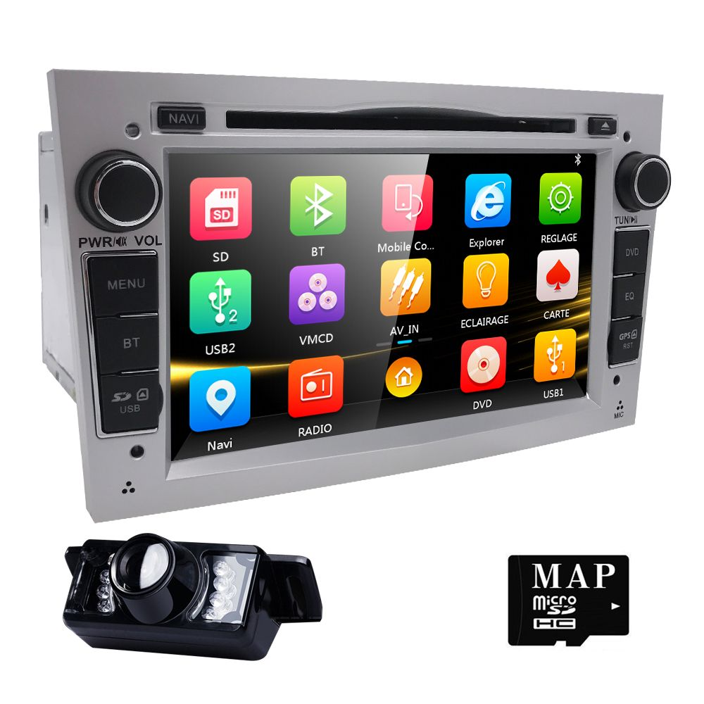 7 Hd Touch Screen Car Dvd Player Gps Navigation System For Opel