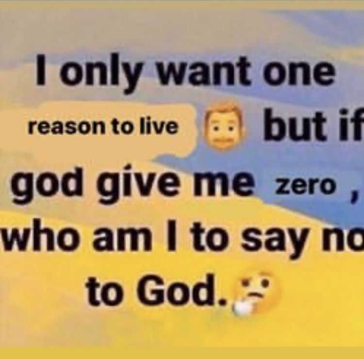 If God Say No Den No Mean No Stupid Memes Funny Memes Fb Memes