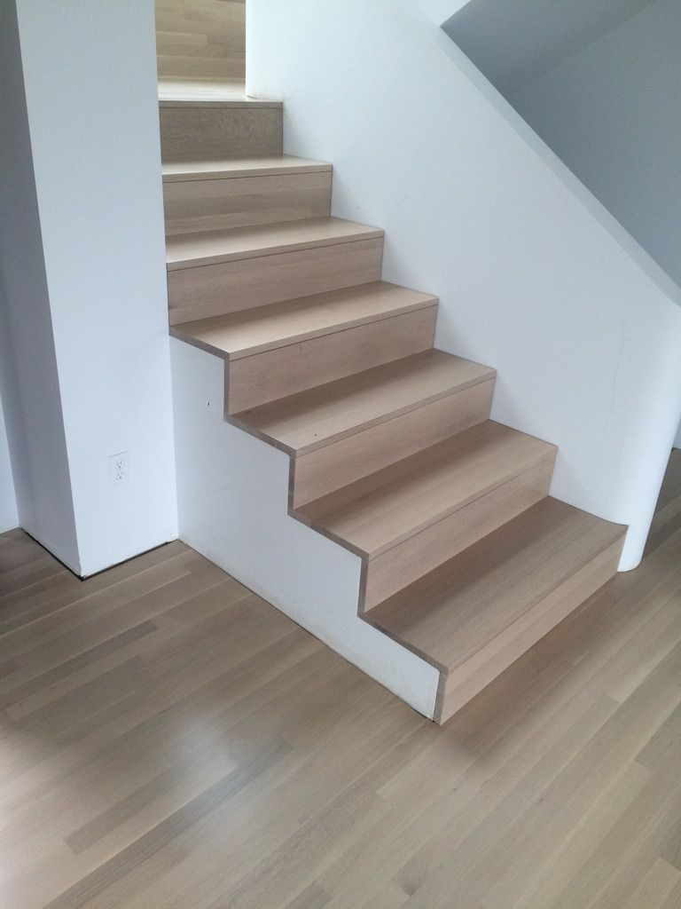 Superior White Washed Rift And Quartersawn White Oak Stairs And Floors. Done By  Domino Hardwood Floors, Inc., Portland, OR