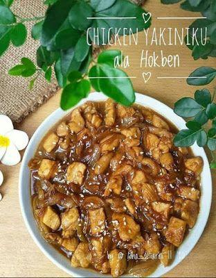 Chicken Yakiniku Resep Masakan Masakan Resep Ayam