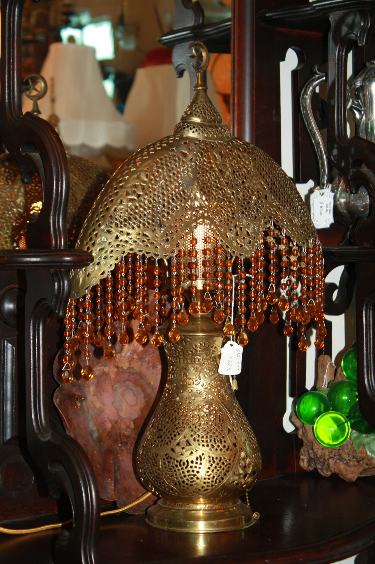 Antique Brass Moroccan Lamp. Ambiance And Atmosphere Are What You Get When  You Select This