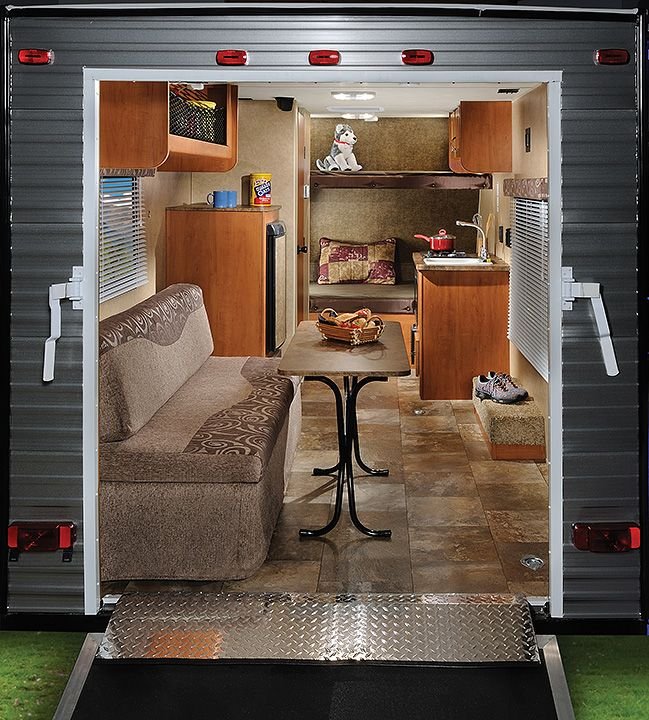 Wolf Pup Toy Hauler Travel Trailer By Forest River