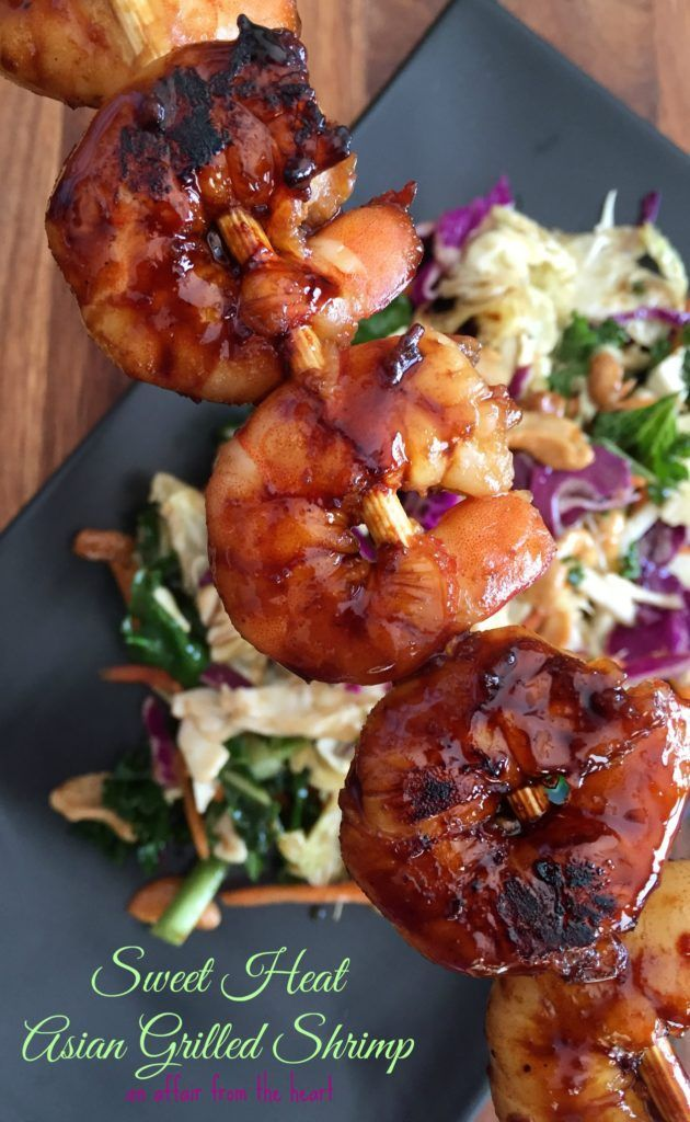 Sweet Heat Asian Grilled Shrimp