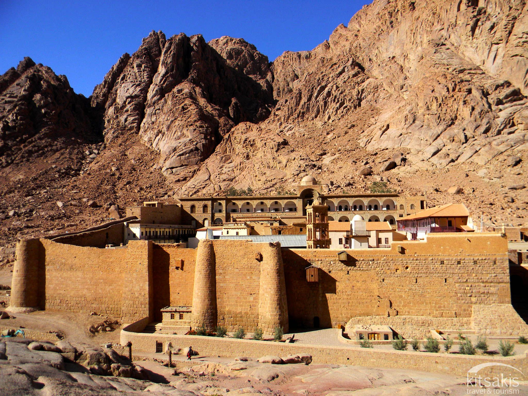 Saint Catherine Monastery, listed by UNESCO as a World