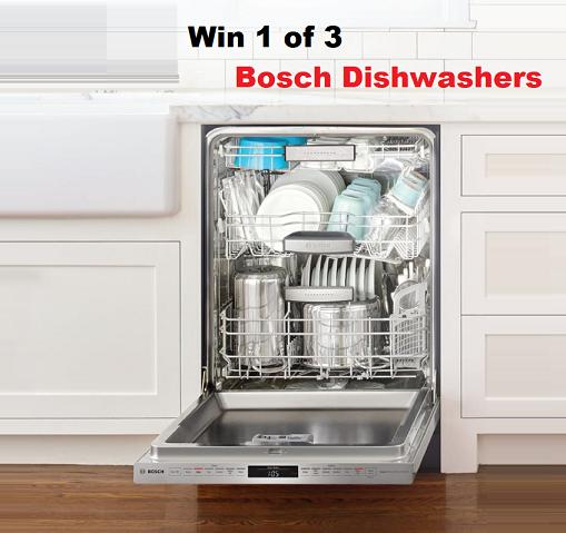 Bosch Dishwasher Giveaway In 2020 Bosch Dishwashers Bosch