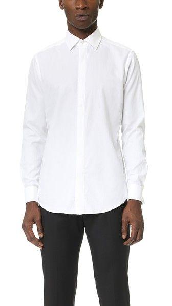 Theory Dover Tuxedo Shirt