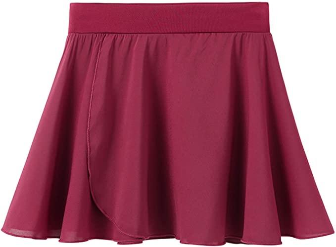 STELLE Ballet//Dance Chiffon Wrap Skirt for Toddler//Girls