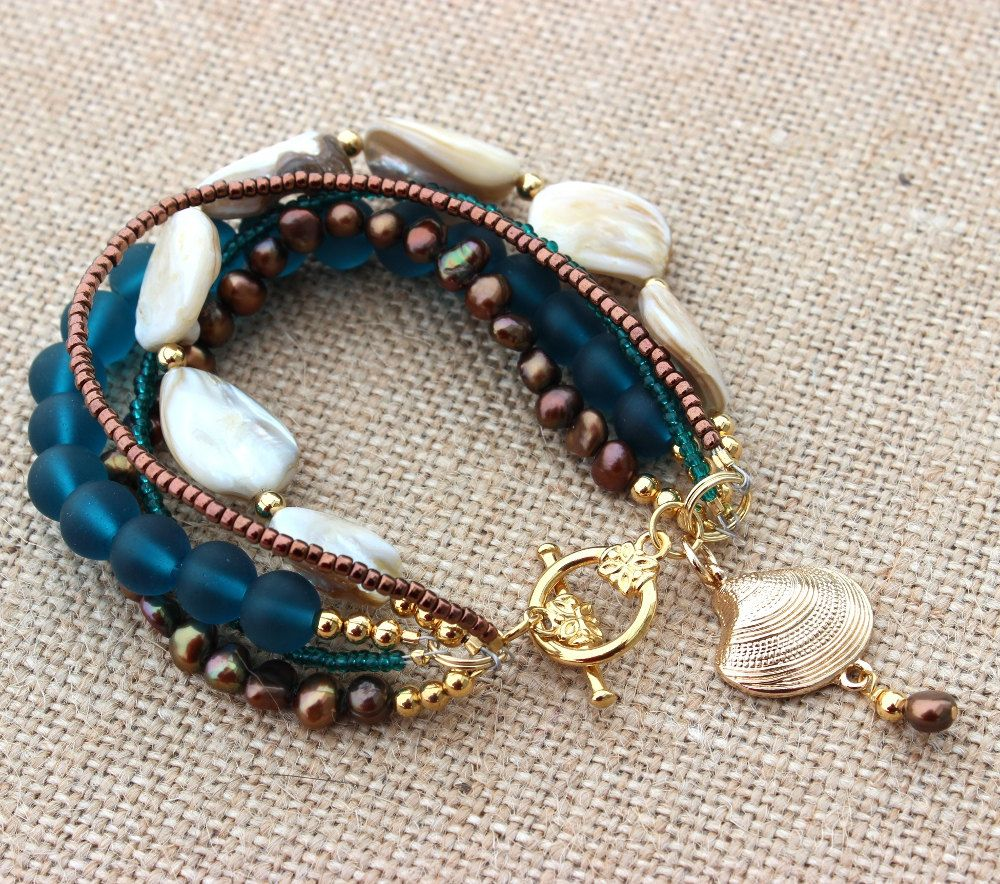 Beach bracelet women by inspiredtheory on etsy diy jewelry