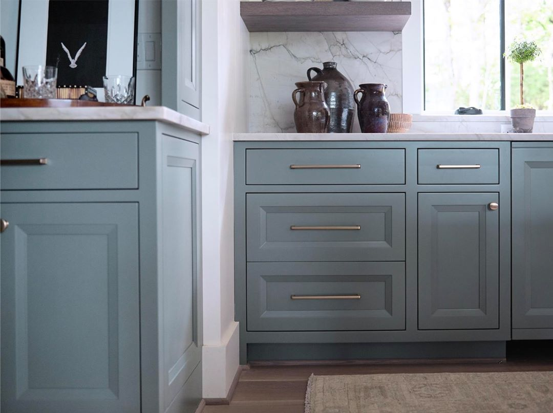 Keystone Millworks On Instagram Do You Have A Favorite Paint Color Or Shade Ours Is This Sherwin Williams Sw 6207 Cabinetry Custom Cabinetry Kitchen Design