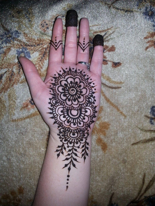 Henna Designs On Palm: Henna Palm Mandala By Flowerwills.deviantart.com On