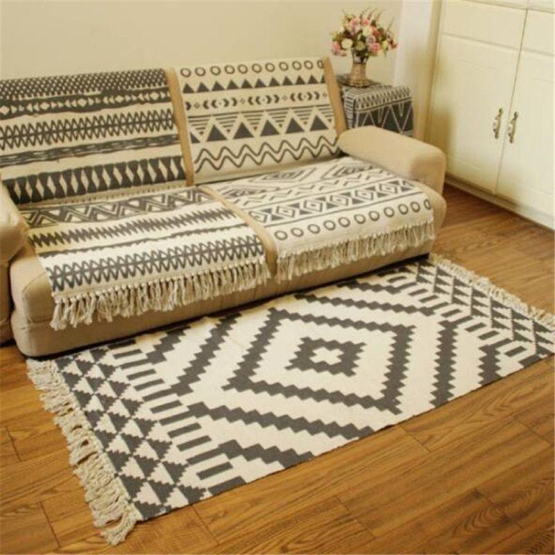 Home Decor Tatami Cushion Round Yoga Floor Meditation Mat Soft Coffee Strips