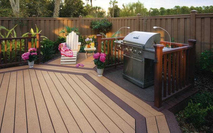 2016 Trex Decking Prices Average Trex Deck Cost Per Square Foot Materials Deck Railing Design Trex Deck Deck Installation