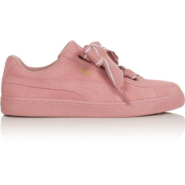 Puma Suede Heart Satin Ii Trainers- Pale Wholesale b0k1qHD0M