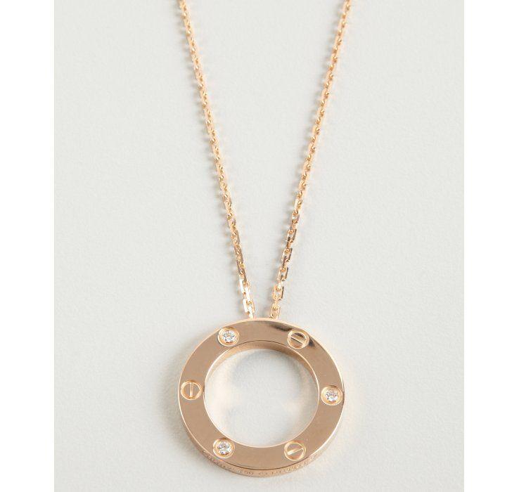 Gotta love this cartier diamond and yellow gold love pendant gotta love this cartier diamond and yellow gold love pendant necklace aloadofball Choice Image