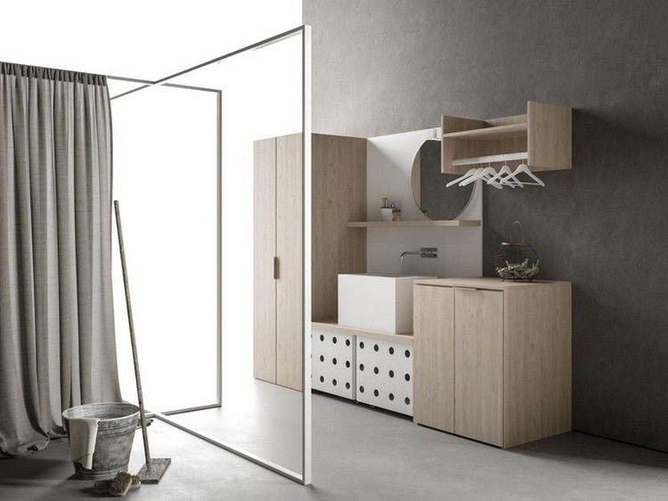 Drop Ist Ein Neues Projekt Für Schränke Für Hauswirtschaftsraum Vom  Designer Gian Vittorio Plazzogna, Der Die Idee Für Moderne Waschküche  Ausweitet.