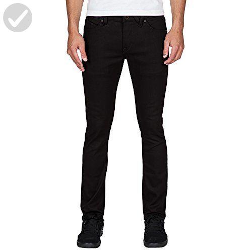 Volcom Men's 2x4 Stretch Denim Jean, Black on Black, 32 - Mens world (*Amazon Partner-Link)
