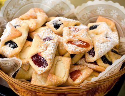 The Dough For Polish Sour Cream Kolaczki Couldn T Be Easier Recipe Kolaczki Cookies Recipe Kolaczki Recipe Food