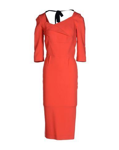 ROLAND MOURET 3/4 Length Dress. #rolandmouret #cloth #dress #top #skirt #pant #coat #jacket #jecket #beachwear #