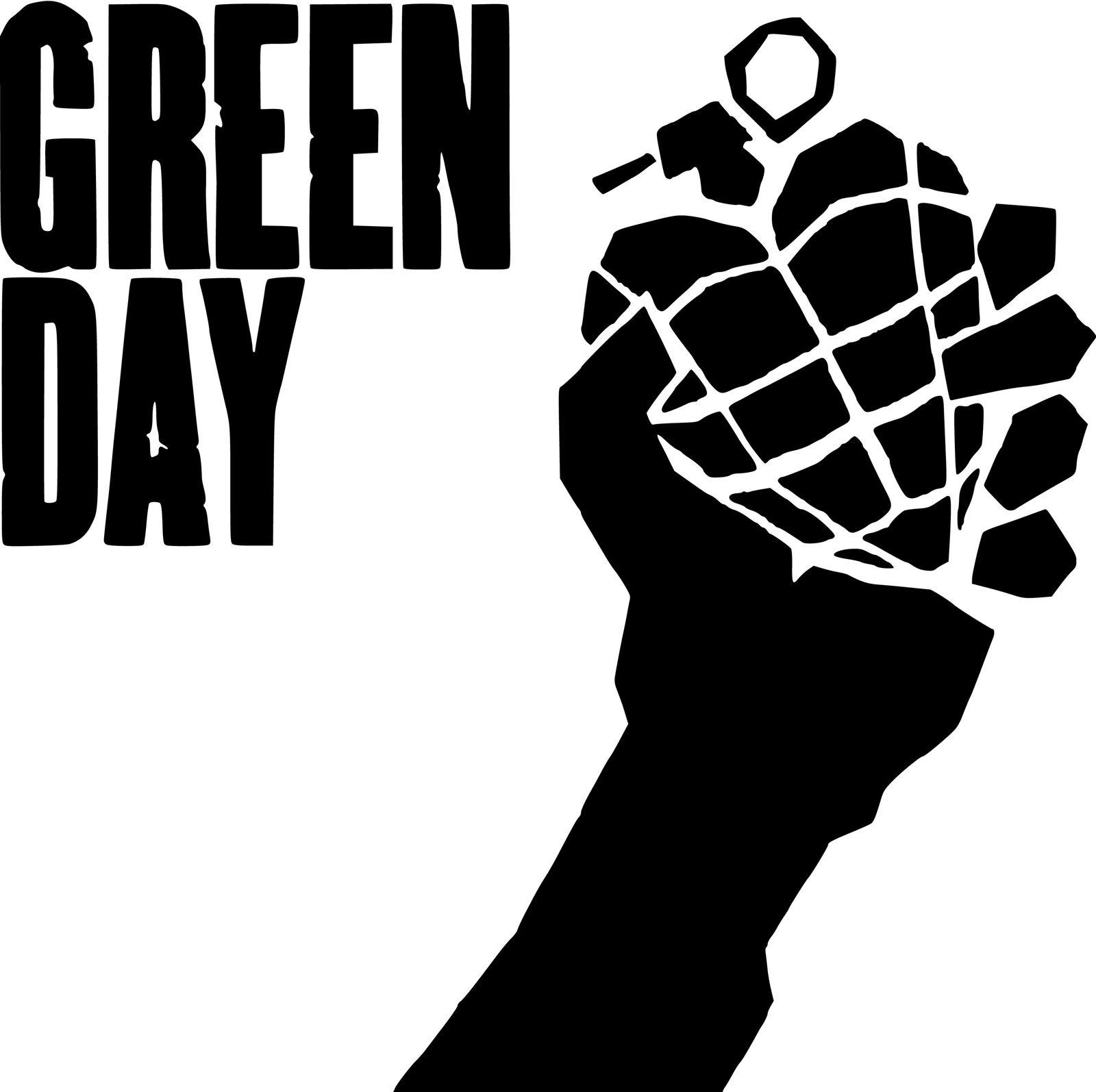 Shape Green Day Logo Green Day Logo Green Day Green Day Tattoo