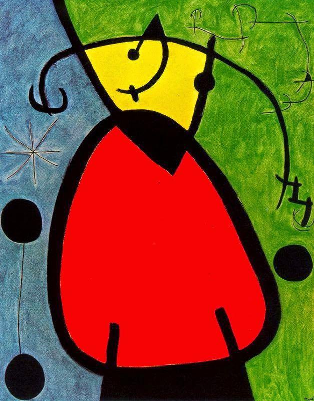 Pin De Jaia En Enseñanza Cuadros De Joan Miro Surrealismo Abstracto Joan Miró