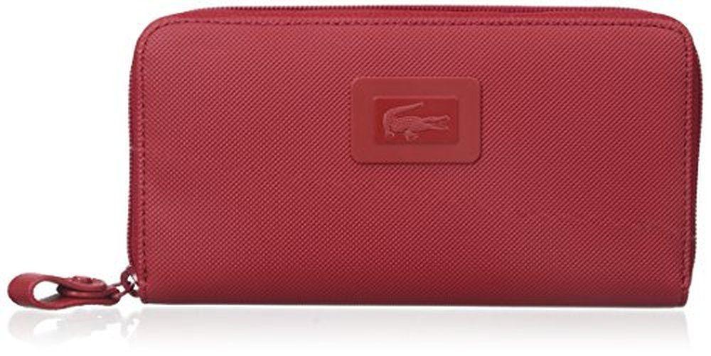Lacoste Women s Classic Large Zip Wallet  442fa55f1