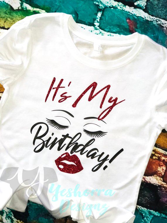 8eb743fc8b6e Its your birthday! Celebrate & let the world know with this gorgeous Diva  Birthday Girl Shirt. This shirt is created with a combination on …