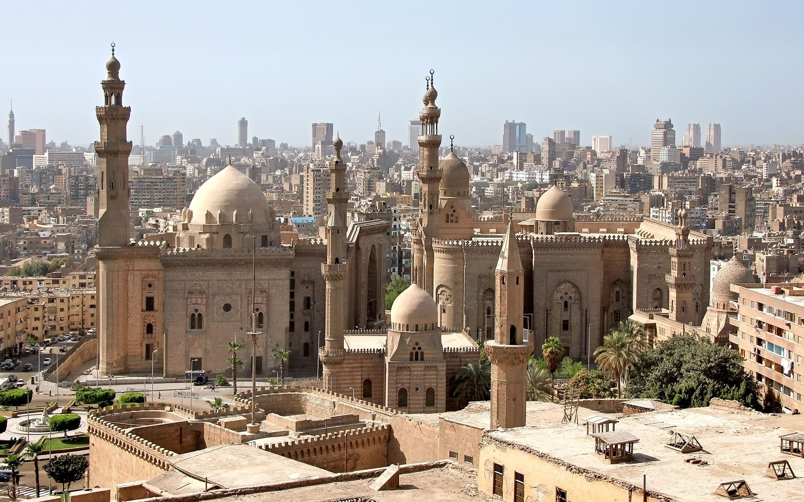 Cairo, Egypt's sprawling capital, is set on the Nile River