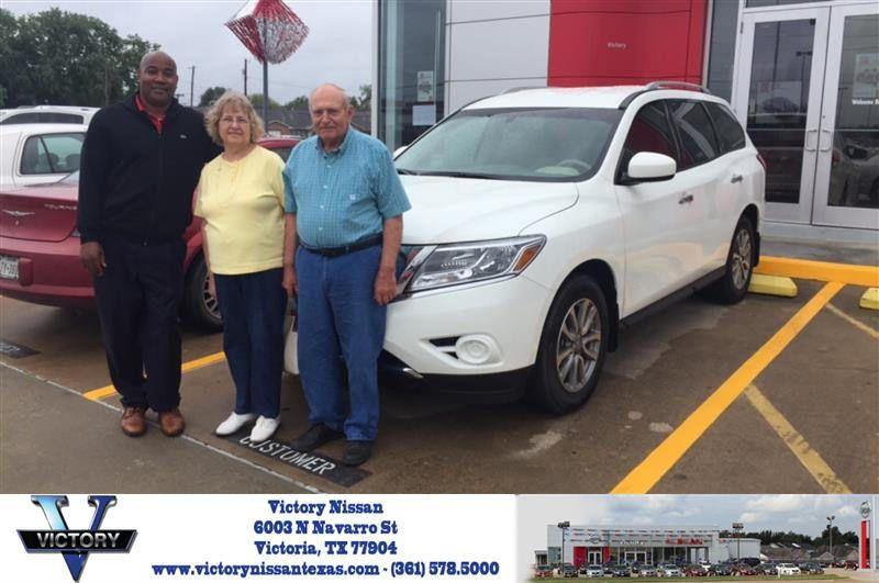 Congratulations Bennie On Your Nissan Pathfinder From Mallorie Gisler At Victory Nissan Nissan Victorious Pathfinder